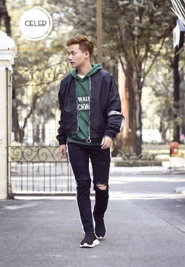 áo khoác dạ Hàn Quốc 2
